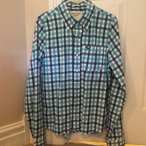 Abercrombie and Fitch Mens Button Down Shirt